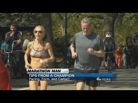 Running Tips from a Marathon Champ | ABC News