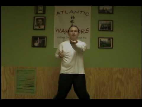 Wing Chun Siu Nim Tao Form - Sifu Jonathan Petree of Atlantic Warriors Wing Chun.AVI