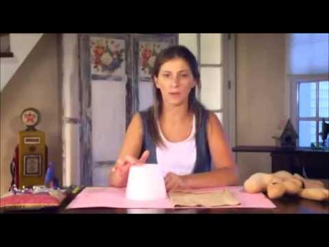Dia de Amigas - Como hacer un Perro porta lapices Manualidad en tela por Alejandra Sandes