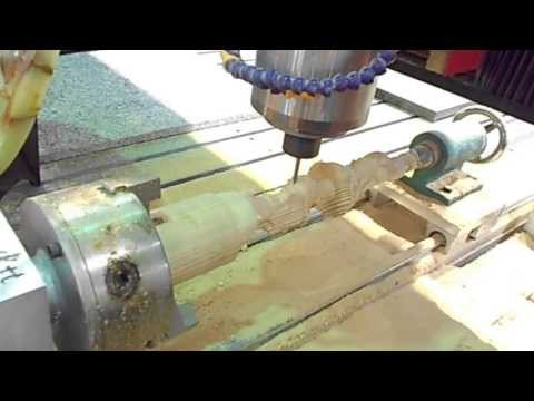3 Axis CNC Router with Rotary (Kenya Elephant International)