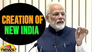 PM Modi Talks About The Creation Of New India | Mango News - MANGONEWS