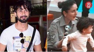 Mira & Misha's Special Surprise For Shahid Kapoor | Kareena & Taimur's Picture Breaks The Internet - ZOOMDEKHO