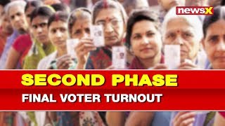 Lok Sabha 2nd Phase Elections 2019: Final voter turnout in second phase of Elections 2019 - NEWSXLIVE