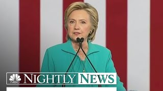 'He's Taking Hate Groups Mainstream': Clinton Lashes Out at Trump   NBC Nightly News - NBCNEWS