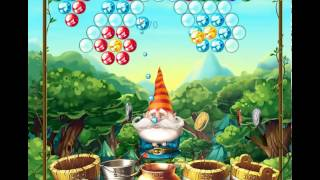 guide, tips, and cheats from Bubble and the Seven Dwarfs Level 8 in video