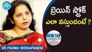 బ్రెయిన్ స్ట్రోక్  ఎలా వస్తుదంటే ?- Dr Padma Veerapaneni Neurologist | iDream Movies - IDREAMMOVIES