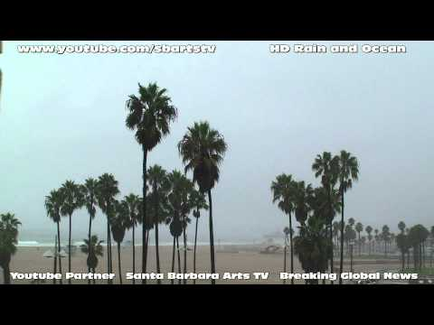 Sleep Meditation 60 Minutes 1 Hour Ocean Hard Rain HD  5 gig Monsoon of 2010 Nature Sounds Relaxing
