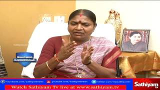 Kelvi Kanaikal – Interview with B.Valarmathi – Sathiyam TV Show