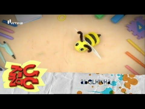 Como fazer uma abelhinha - Mãos à Obra