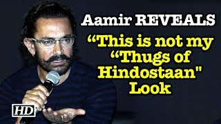 """Aamir REVEALS- """"This is not my """"Thugs of Hindostaan"""" Look - BOLLYWOODCOUNTRY"""