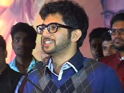 Yuva Sena President Shri Aaditya Thackeray addressing the youth in Thane.