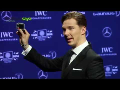 Benedict Cumberbatch - Red Carpet @ Laureus World Sports Awards 2014
