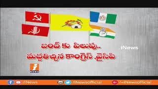 AP Govt Support AP Bandh For Budget Allocation To AP | Spot Light | iNews - INEWS
