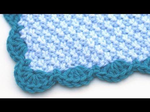 Crochet for Knitters - Scalloped Edge