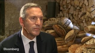 Starbucks CEO Howard Schultz Says Company Is 'Open Book' - BLOOMBERG