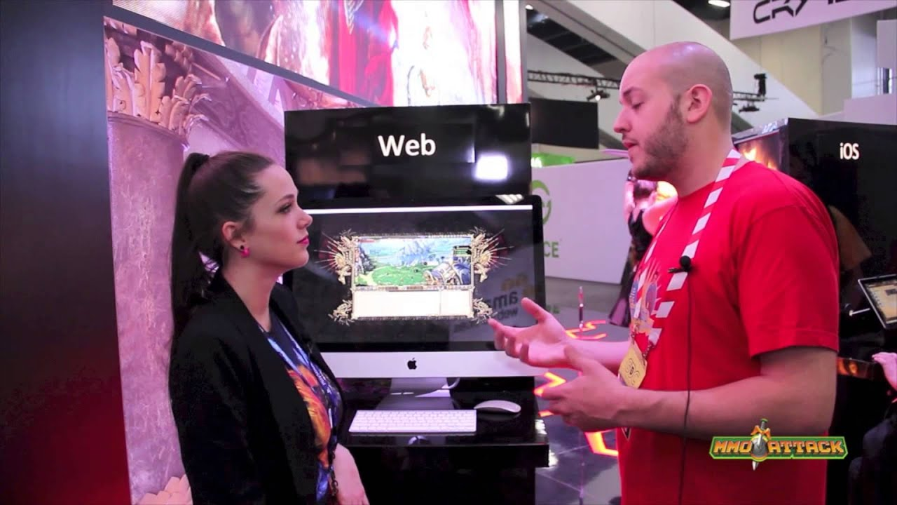 Dragon Eternity Interview - GDC 2013