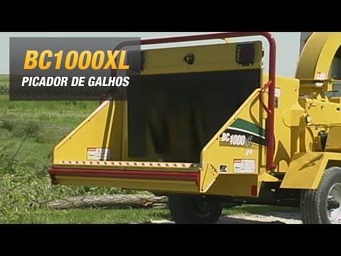 Vermeer BC1000XL-49hp, picador de madeira, galhos, forragem, folhagem, triturador florestal