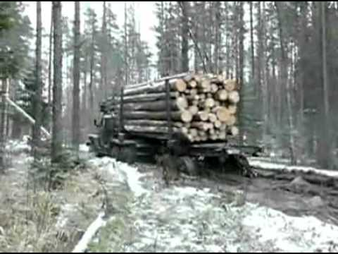 Russian insane Truck Driver