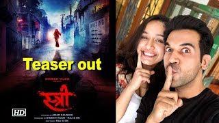 'Stree' Teaser | Rajkummar & Shraddha's horror film - IANSINDIA