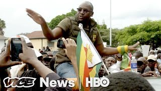 "Zimbabwe's Resistance Leader Says Mugabe Is ""History"" (HBO) - VICENEWS"