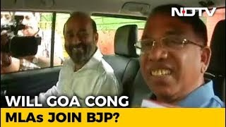 """Joining BJP Today,"" Say 2 Goa Congress Lawmakers After Meeting Amit Shah - NDTV"