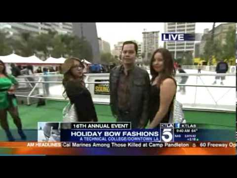 ATC / KTLA Morning News - Fashion Students segment