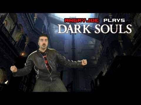Angry Joe Plays Dark Souls - Easter Egg & First Boss!