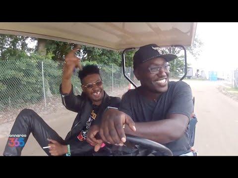 Danny Brown - Danny Brown & Hannibal Buress Cruise Bonnaroo In A Golf Cart