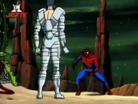 """Spiderman Odcinek 61 """"Tajne Wojny cz.1"""" (1/2)"""