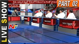 Why Congress & BJP Focus on Telangana? || Rahul Gandhi & Amit Shah Tour || Live Show || Part 2 - NTVTELUGUHD