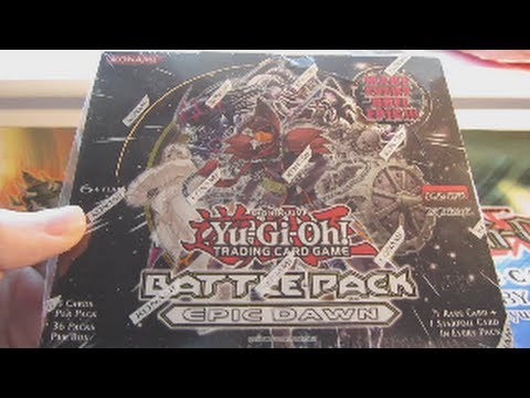 YuGiOh Battle Pack Epic Dawn Booster Box Opening