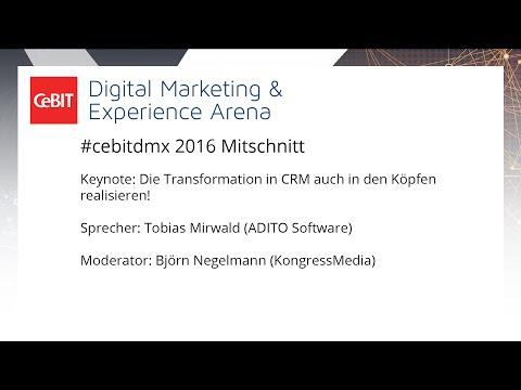 """#cebitdmx: Keynote """"Die Transformation in CRM auch in den Köpfen realisieren!"""""""