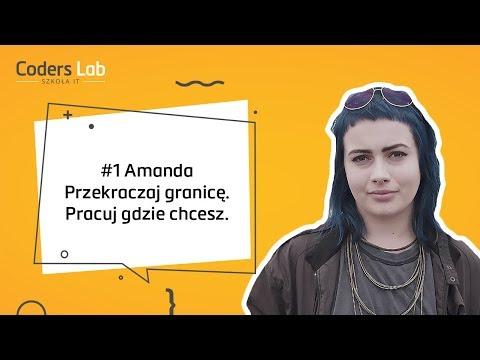 Historia Amandy, która pracuje jako programistka w Szwecji