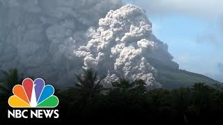 Mayon Volcano In Philippines Erupts | NBC News - NBCNEWS