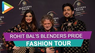 Siddharth Malhotra & Diana Penty on Ramp for Rohit Bal's Blenders Pride Fashion Tour 2019 Part 2 - HUNGAMA
