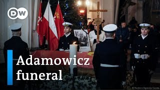 Adamowicz funeral: Poland bids farewell to Gdansk mayor | DW News - DEUTSCHEWELLEENGLISH
