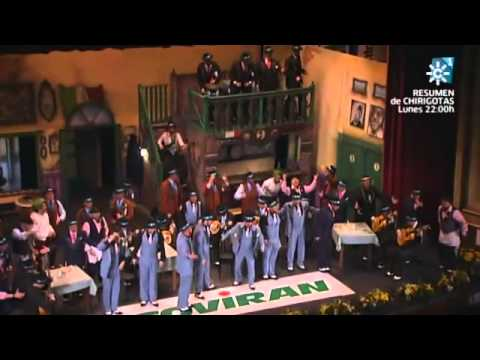 Sesión de Final, la agrupación La trattoria actúa hoy en la modalidad de Coros.