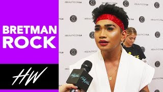 BRETMAN ROCK Gets REAL on the Beautycon Carpet and Talks KYLIE Lips !! - HOLLYWIRETV