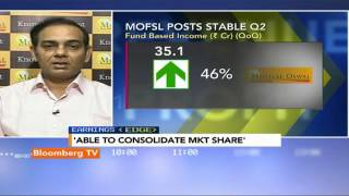 Earnings Edge: Growth Of 60% Plus In Revenue & Profit: Motilal Oswal - BLOOMBERGUTV