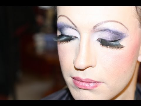 Drag Queen Makeup on Christoffer