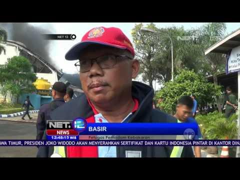 3 Gedung Produksi Pabrik Plastik di Bekasi Terbakar NET12