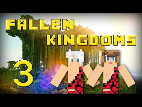 Fallen Kingdoms 2 : Frigiel & Ectalite   Jour 3 - Minecraft
