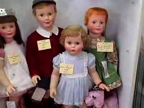 Roscoe Antique Mall - Dealer Display Ideal Dolls
