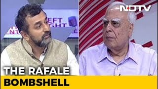 Rafale Bombshell Bigger Than Bofors Scandal, Says Kapil Sibal - NDTV