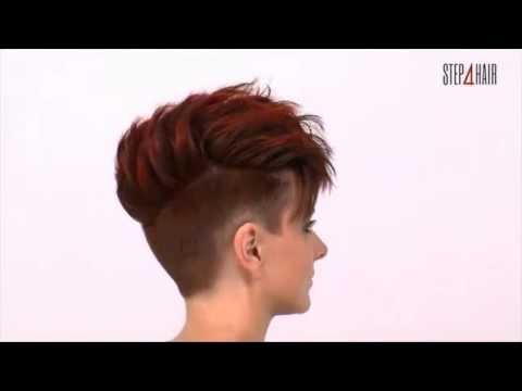 step4hair.com: Strzyżenie damskie z koloryzacją - fryzura krok po kroku