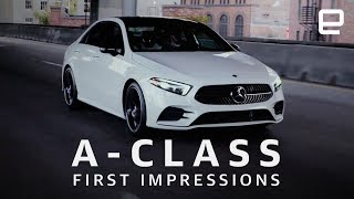Mercedes A-Class Sedan First Impressions - ENGADGET