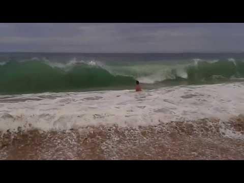 Rio das Ostras-(Jacaré)Surf de Peito na Praia do Abricó 2