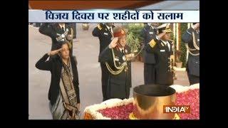 On Vijay Diwas, Nirmala Sitharaman pays tributes to martyrs of 1971 war - INDIATV