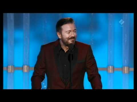 Ricky Gervais' Opening Monologue at The Golden Globes 2012