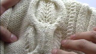 Aran knitting (Вязание спицами Араны ) часть 1
